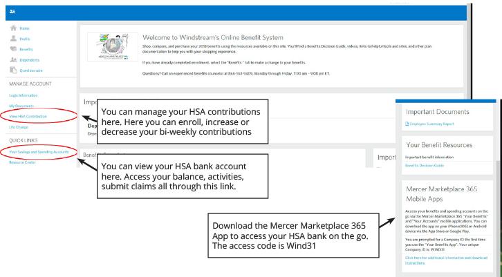 Health Savings Account (HSA) – Windstream Benefits